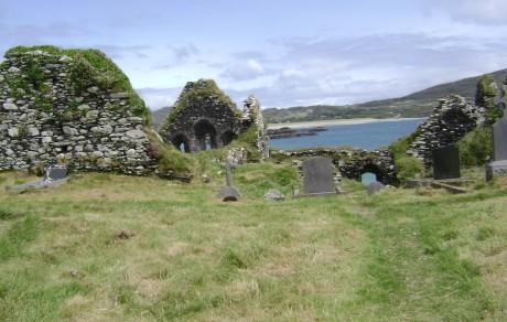 Abbey Cemetery Derrynane