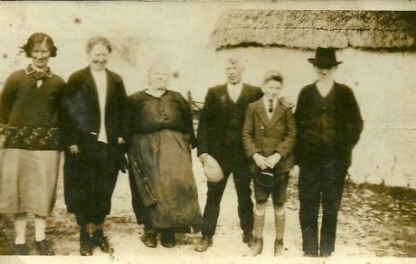 Irish Family c.1940